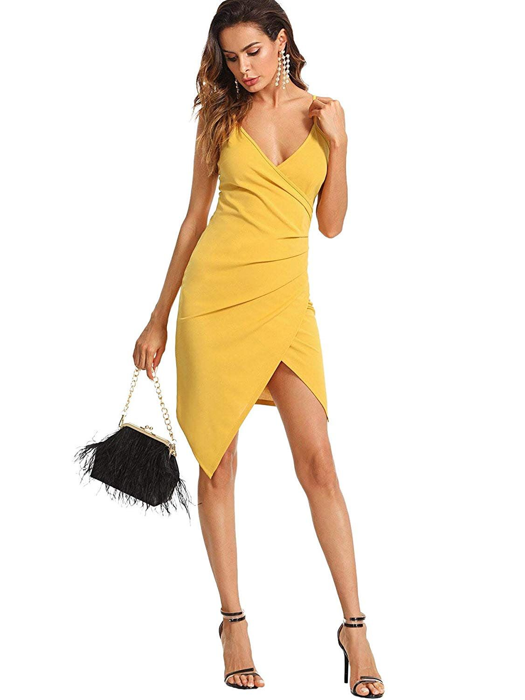 27053294974 Gabrielle Union Collection - One-Shoulder Sheath Dress - Mango ...