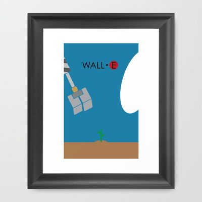 WALL-E Framed Art Print by Jonathan Bender - $32.00