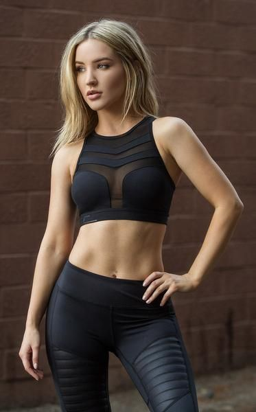 b14446084e6 NERO | Nero Sports Bra & Tights - Black: Activewear | Women's Yoga ...