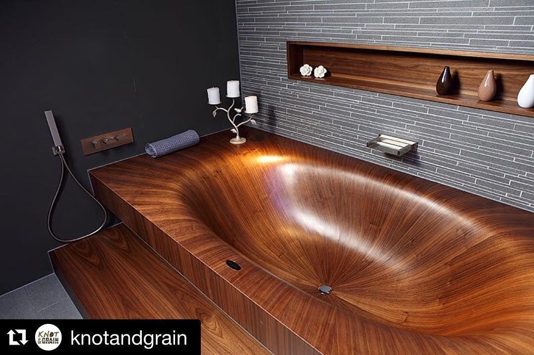 Repost @knotandgrain are you kidding me right now? We like big tubs ...