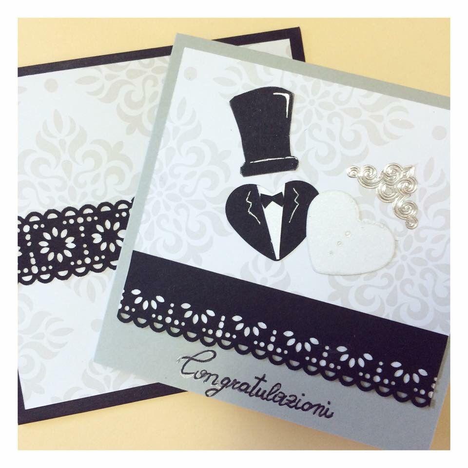 Biglietto Di Auguri Matrimonio A Handmade Wedding Card