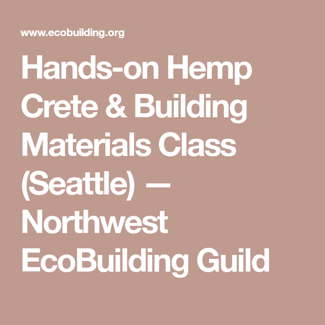 Hemp Crete Building Materials Cl