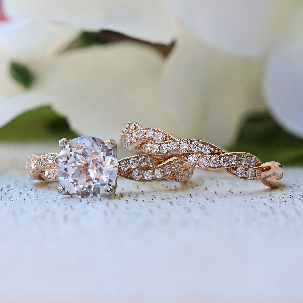 Hemera Bridal R3568b Rose Gold Engagement Ring Have Us Create An Engagement  Ring For You With