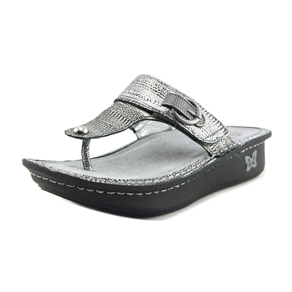 efc7635866ce5 Alegria Women s Carina Chain Mail Sandal Size 38 M EU 8-8.5 B(M) US ...