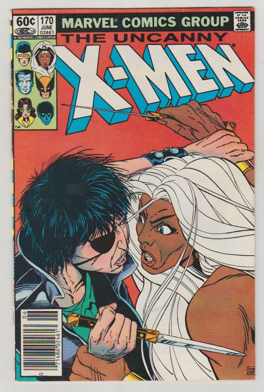 Uncanny X-Men; Vol 1, 170 Bronze Age Comic Book.  VF/NM.  June 1983.  Marvel Comics #xmen #comicsforsale