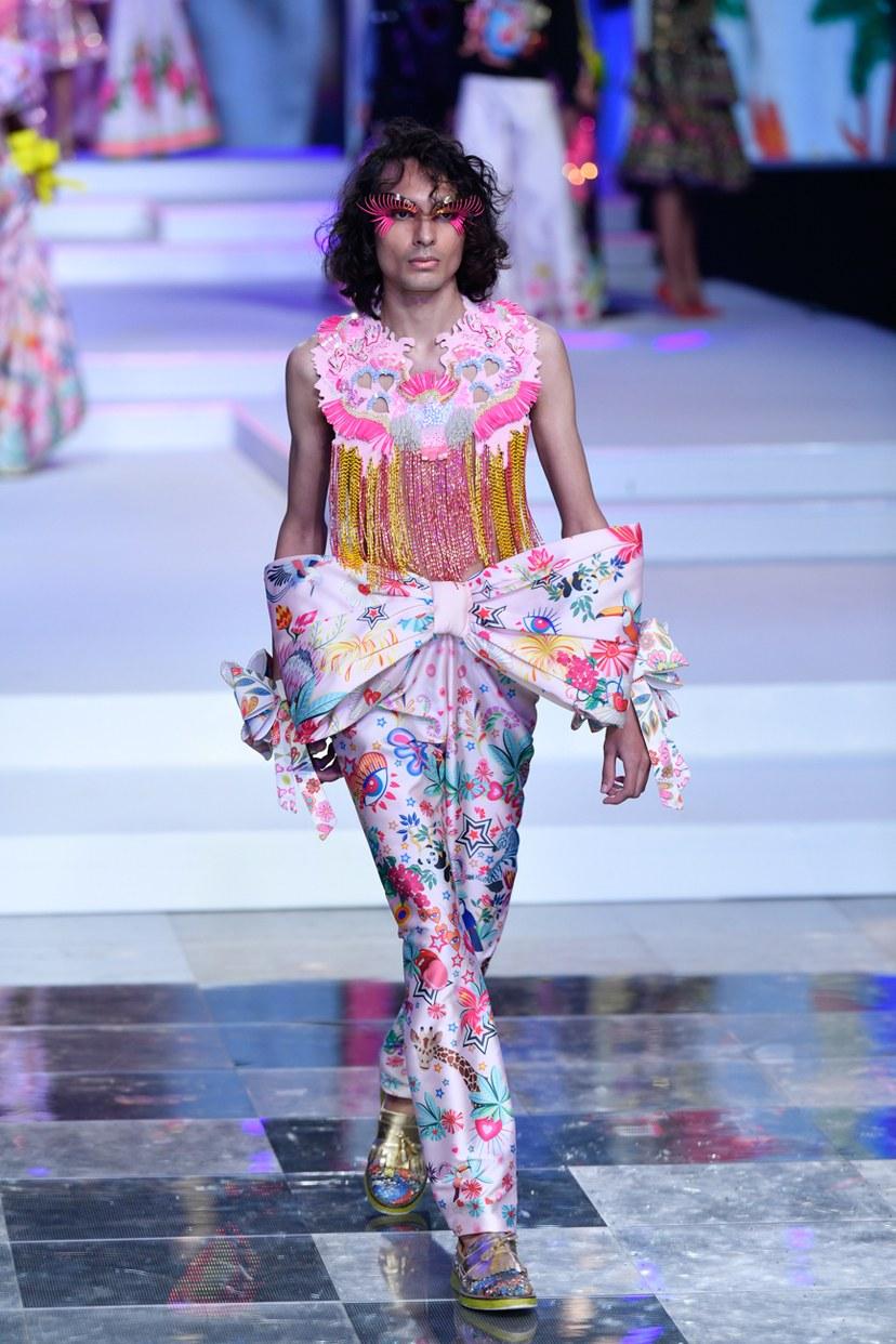 Manish Arora at Lotus MakeUp India Fashion Week spring