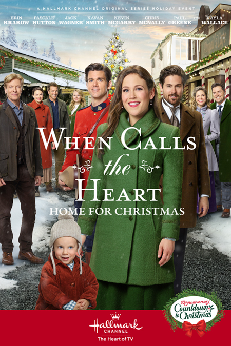 When Calls the Heart: Home for Christmas - a Hallmark Channel Christmas Day Movie Premiere! en ...