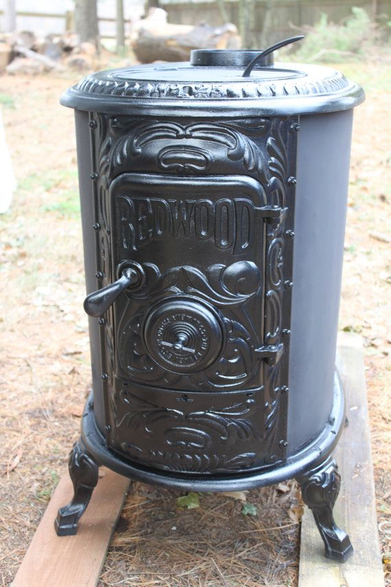 RESERVED- (Mike) Antique 1800s 1850 Redbox 25 Cast Iron Wood Burning Stove  Completely - RESERVED- (Mike) Antique 1800s 1850 Redbox 25 Cast Iron Wood