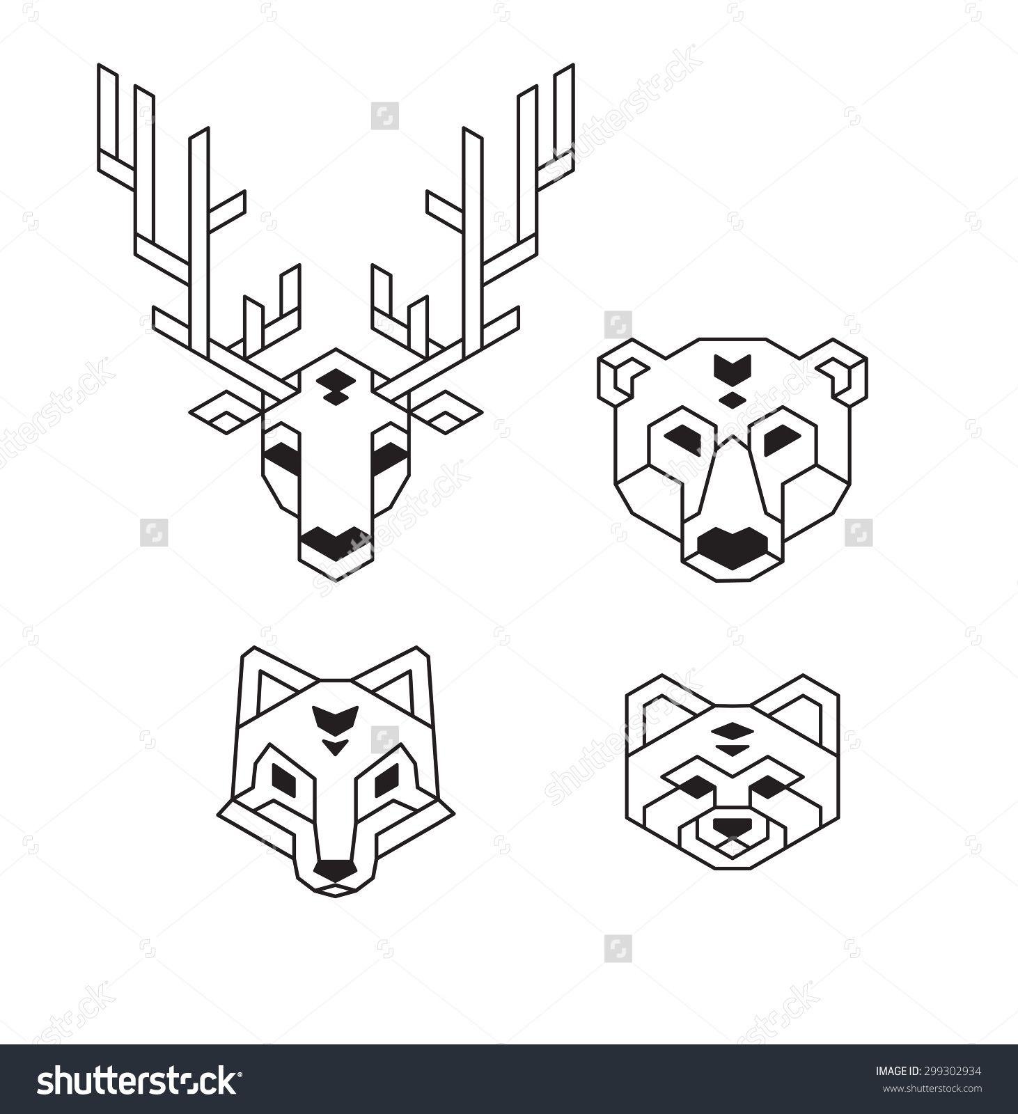 Deer Pattern  Szukaj W Google