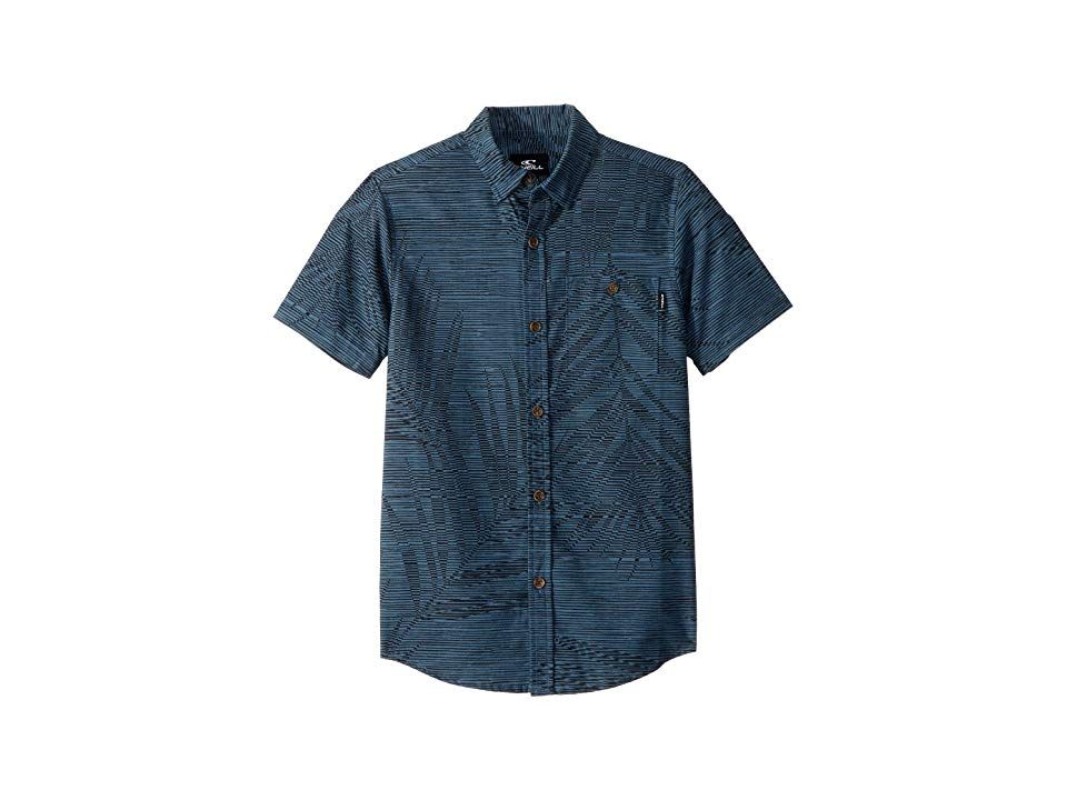 ONeill Mens Fronzarelli Short Sleeve Woven Shirt