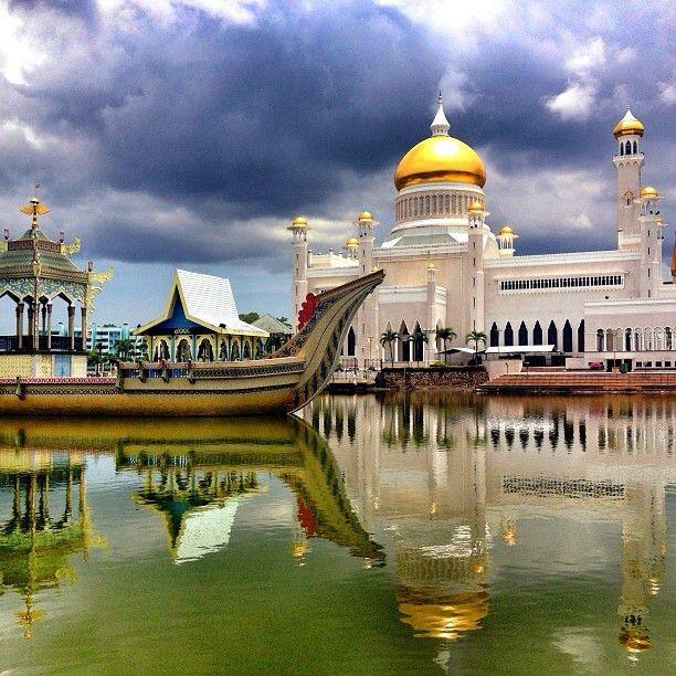Istana Nurul Iman Brunei Darussalam Places To Visit Pinterest - Where is brunei