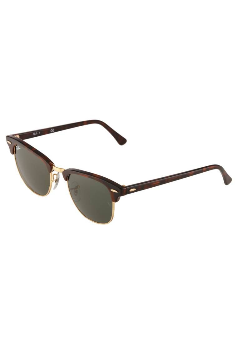 Ray-Ban. CLUBMASTER - Sunglasses - braun goldfarben. UV protection yes be75cd73d1