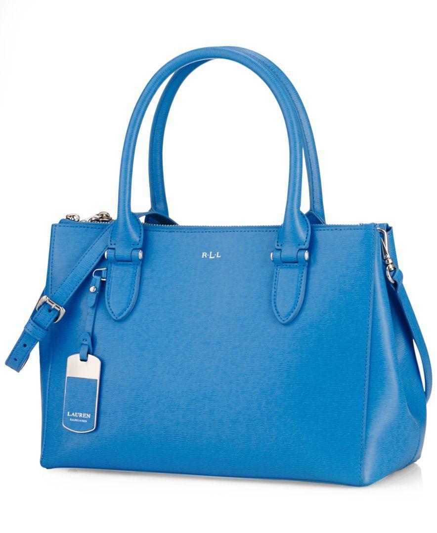 254a6f4fea Lauren Ralph Lauren Newbury Double Zip Shopper Handbag Accessories