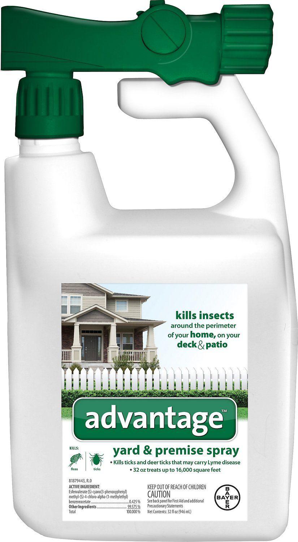 Advantage Yard & Premise Spray, 32-oz hose-end spray ...