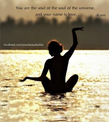 you are the soul of the universe  yoga photography yoga