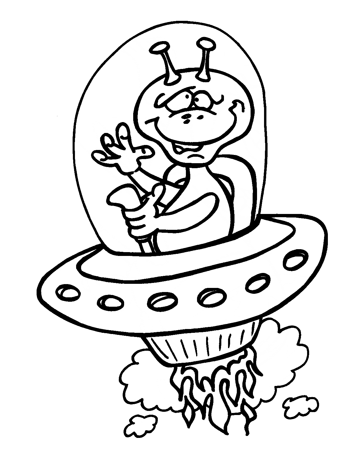 Aliens It Rides Flying Saucer Coloring Pages For Kids Dvm Printable Space And Aliens Coloring Pages Coloring Pages Animal Coloring Pages Lego Coloring Pages