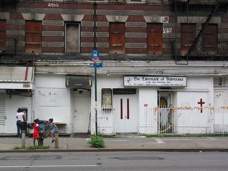 Harlme Douglas Tabernacle Harlem, Street view, Tabernacle