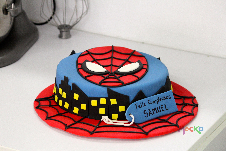 Te Gustaria Un Ponque De Spiderman Para Tu