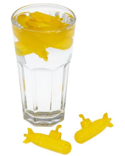 yellow submarine ice cubes!