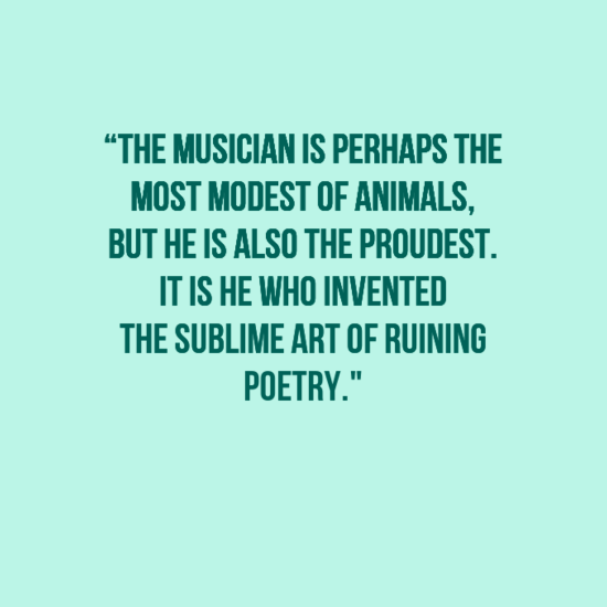 15 Funny Music Quotes of All Time | Funny quotes, Music ...