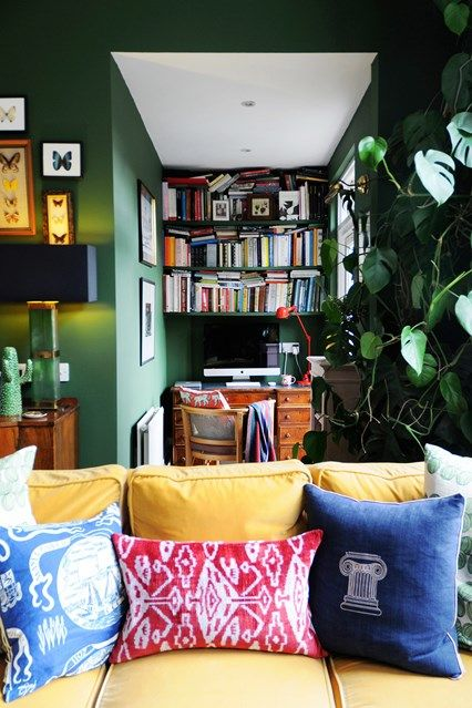 Luke Edward Hall  Duncan Campbell\u0027s flat Home Pinterest