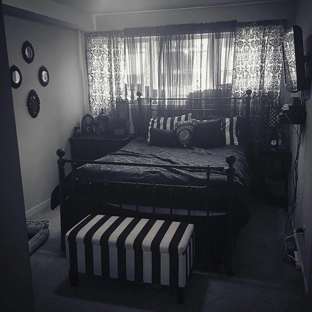 Perfect Dark Bedroom Gothic Only In Smart Homefi Design Victorianbedroom Dark Home Decor Gothic Decor Bedroom Home