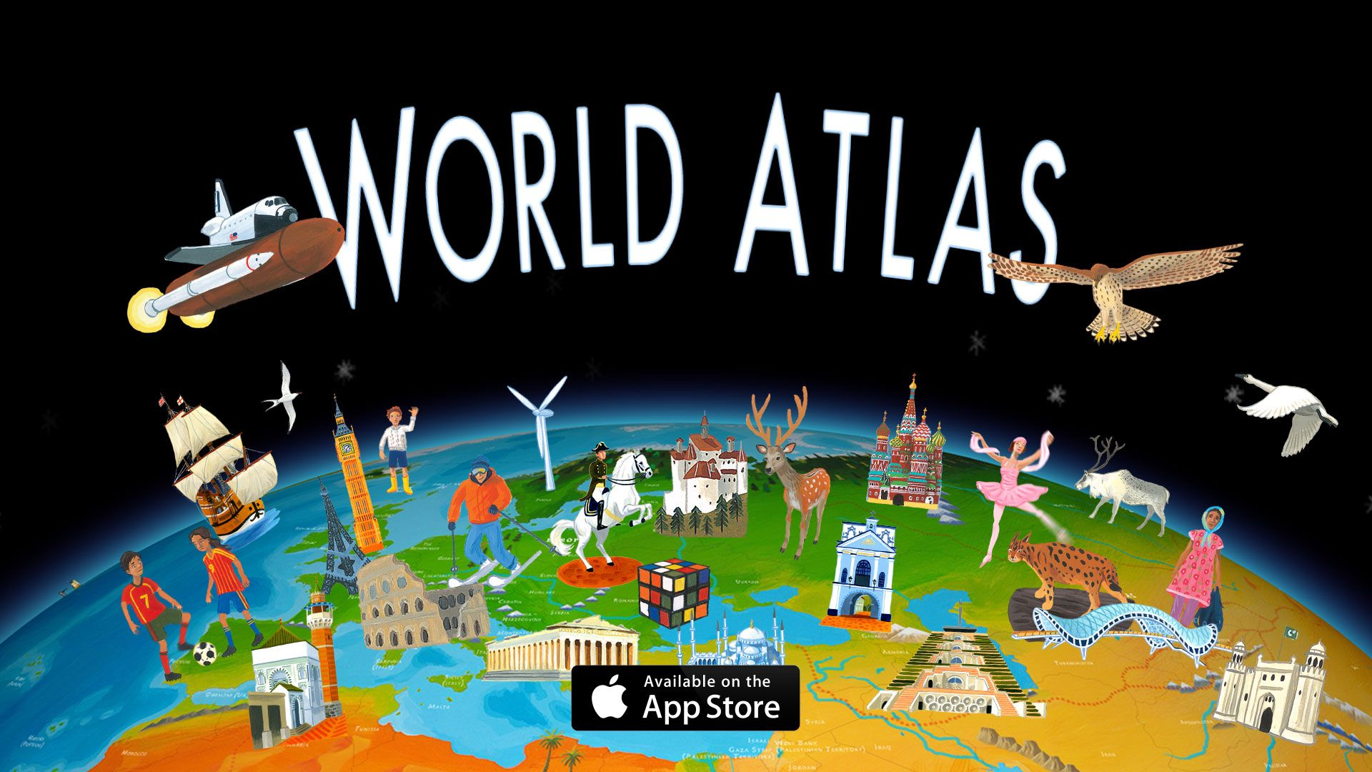 Barefoot World Atlas Interactive App With Images