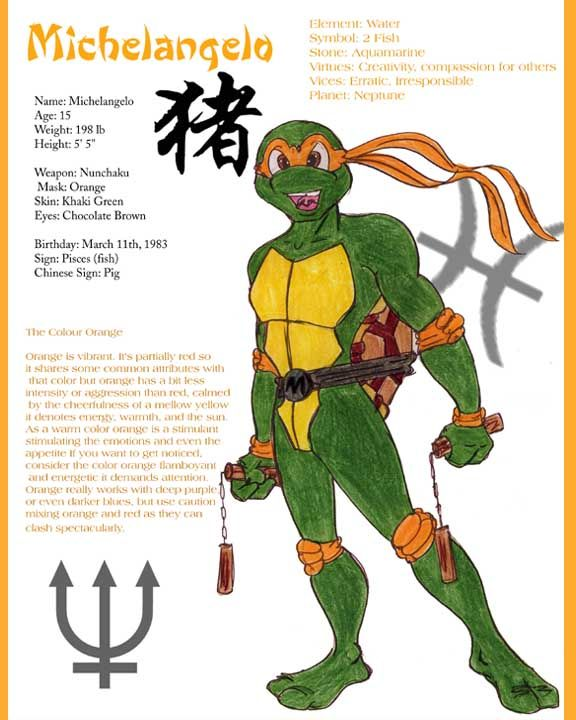 michelangelo tmnt biography by benvolieodeviantartcom on deviantart