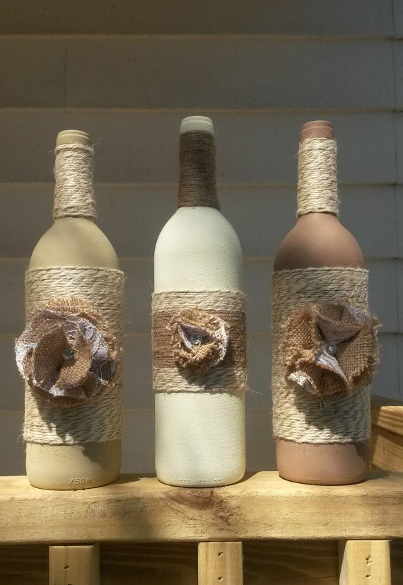Decorative Wine Bottles Adorable Hey Check Out These Decorative Wine Bottles Along With Many Other Design Ideas
