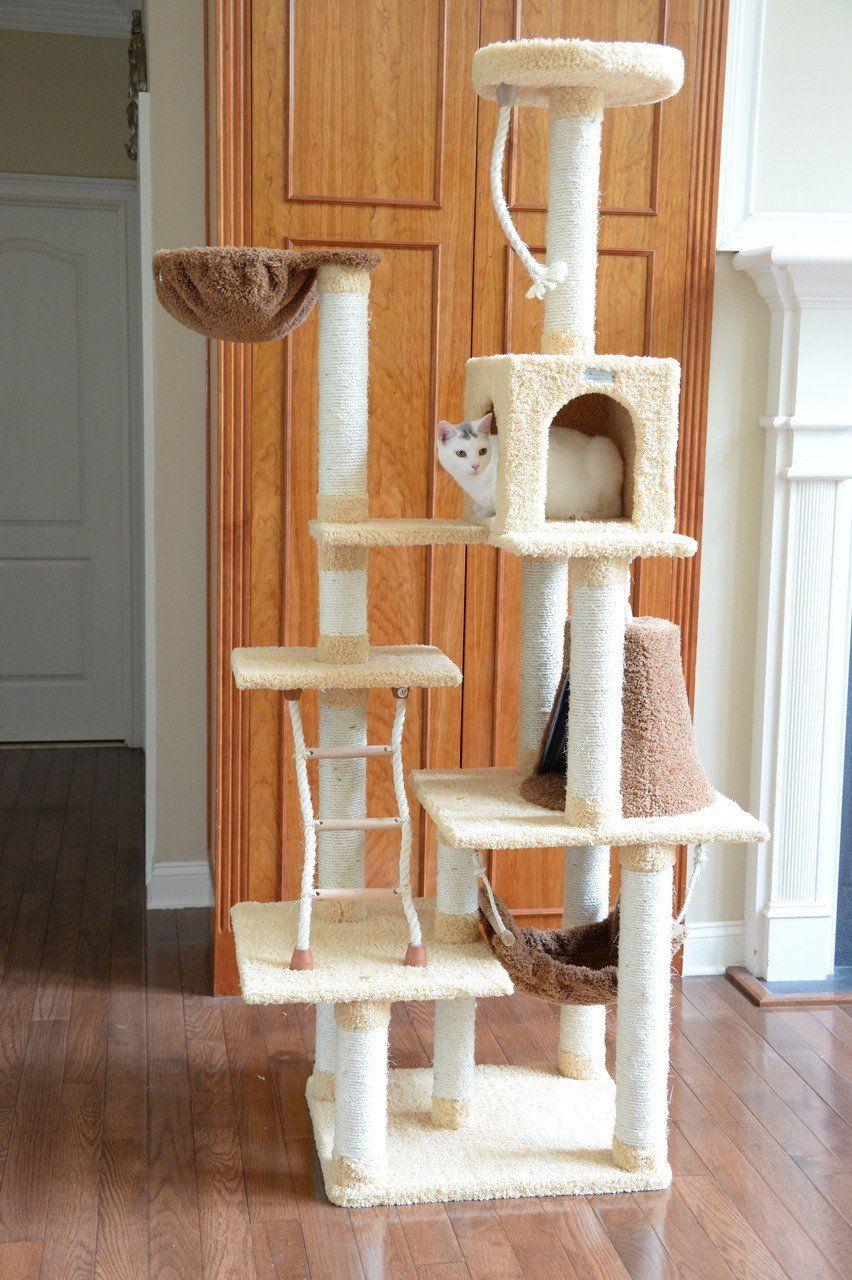 cool cat tree furniture. DESIGNER CAT TREE W/ KITTY HAMMOCK Cool Cat Tree Furniture R