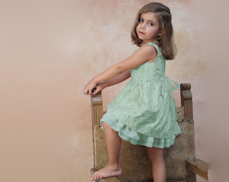 Toddler Girl dress couture mint green flower girl dress | Mint ...