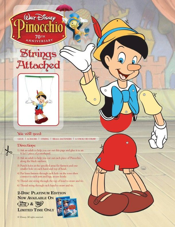 Pin By Crafty Annabelle On Pinocchio Printables Pinterest