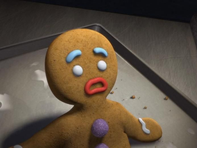Gingy From Shrek Not The Gumdrop Buttons These Are A Few Of