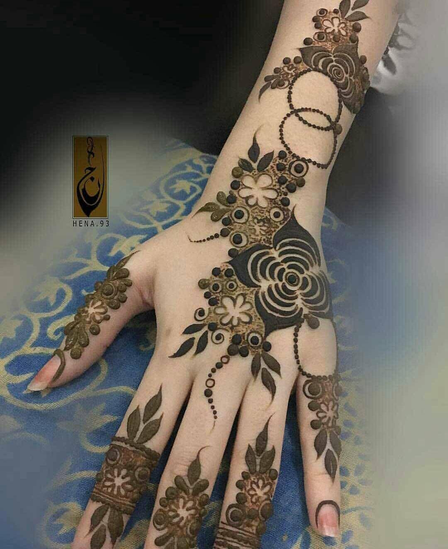 No Photo Description Available Khafif Mehndi Design Latest Henna Designs Rose Mehndi Designs