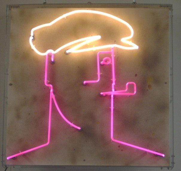 man_with_cap.neon art