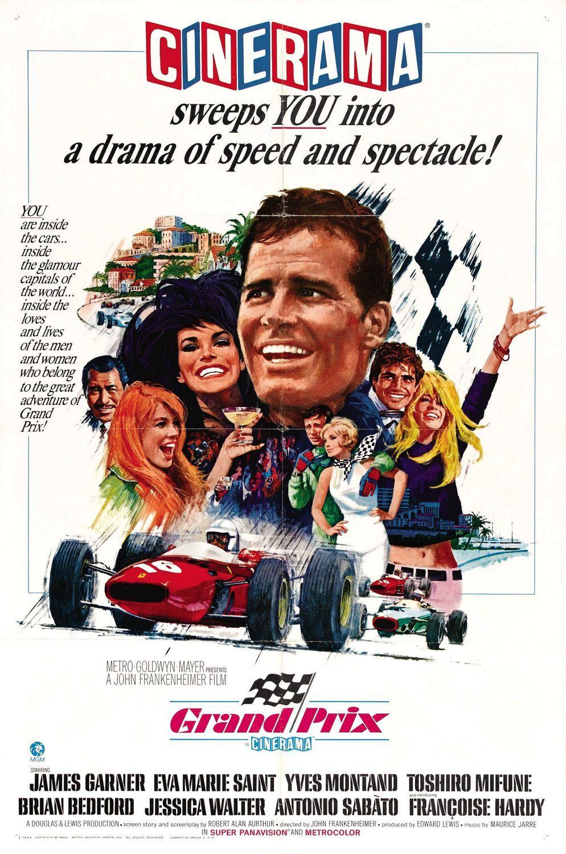 Still My Favorite Racing Movie But Senna Is A Very Close Second Grand Prix James Garner Movie Posters