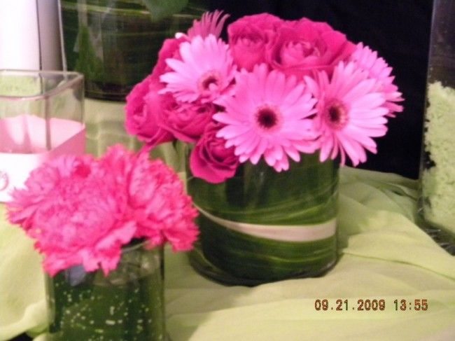 Daisy Flower Arrangement Centerpieces Photo Gallery Pink Flowers