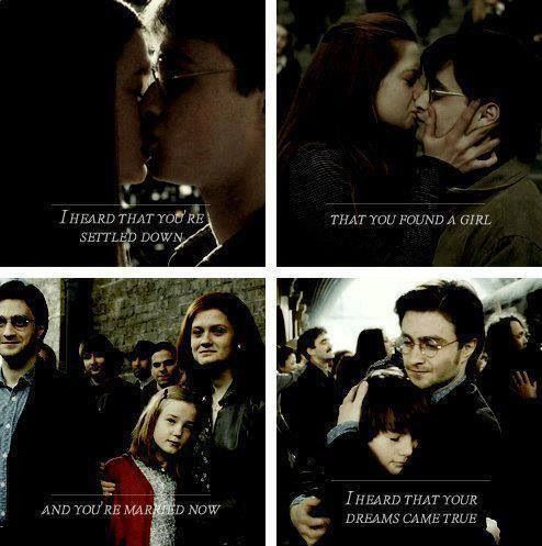 Harry And Ginny Harry Potter Ginny Ginny Weasley Harry Potter Universal