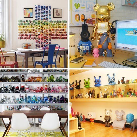 A Huge Collection Of Toy Collections In The Home Home Office