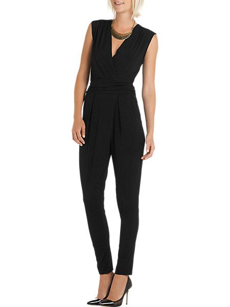 jumpsuit zwart | ~ jumpsuits ~ | black jumpsuit, fashion, jumpsuit