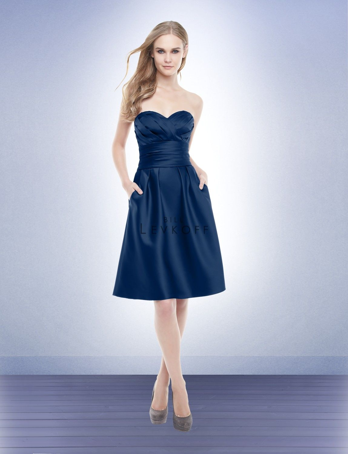 Navy is this years color bridesmaid dress style 172 bill levkoff bridesmaid dress style 172 bill levkoff we carry ombrellifo Image collections