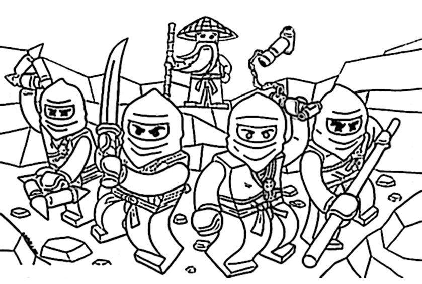 ninjago ausmalbilder zum ausdrucken – Ausmalbilder für ...
