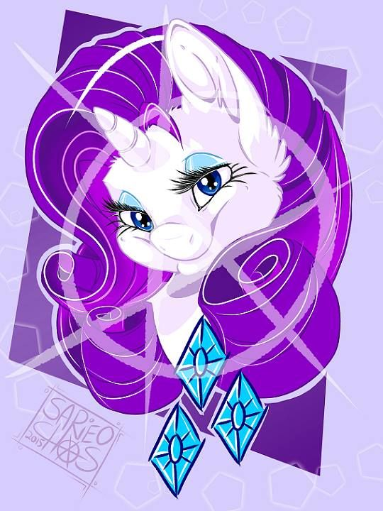 Mlpfim Rarity By Sarineochaostudios I Am A Lady And I Wish To