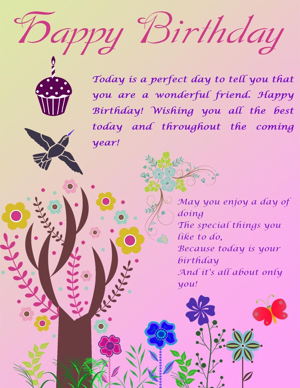 Happy birthday ecard happy birthday pinterest happy birthday happy birthday ecard m4hsunfo Gallery