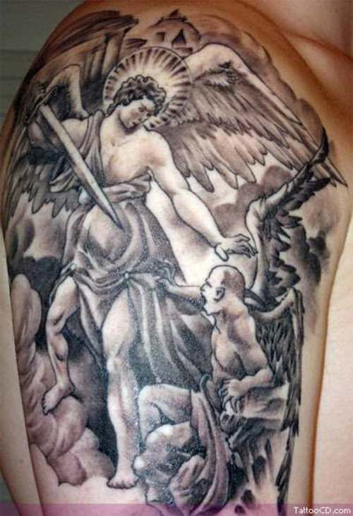 e25693512098f angels and demons – Tattoo Picture at CheckoutMyInk.com   Tattoo ...