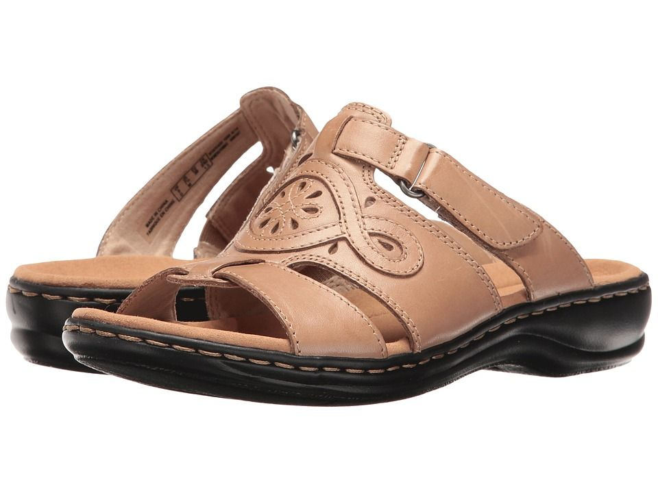 2aa94fab88a CLARKS CLARKS - LEISA HIGLEY (SAND LEATHER) WOMEN S SANDALS.  clarks  shoes