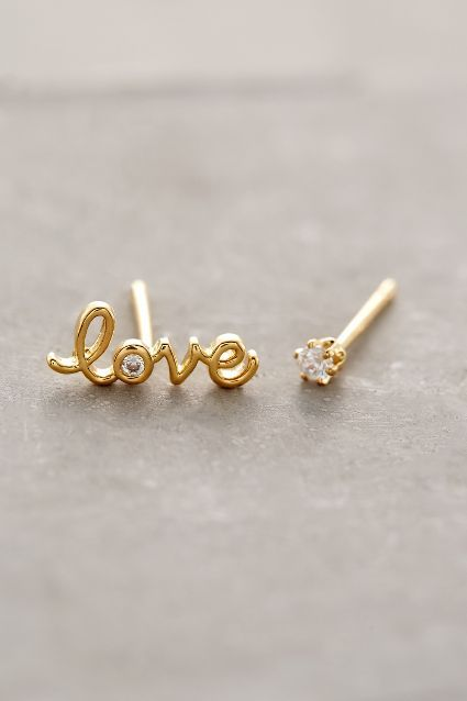 Love Spark Studs #AnthroFave