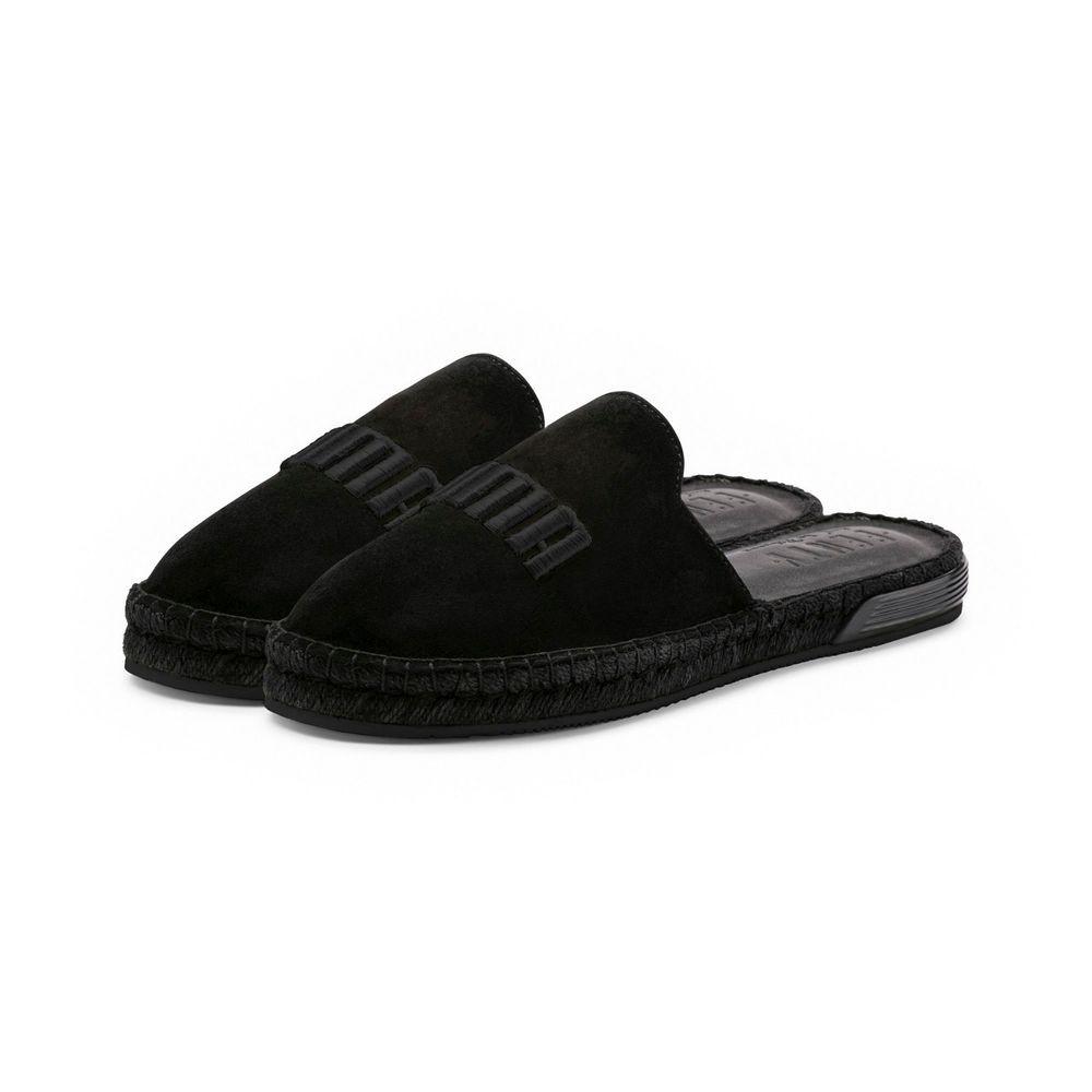 fd2eaa29b6b NIB WOMENS PUMA X FENTY ESPADRILLE JET BLACK RIHANNA FASHION SNEAKER SLIDE  - 6.5  fashion  clothing  shoes  accessories  womensshoes  sandals (ebay  link)