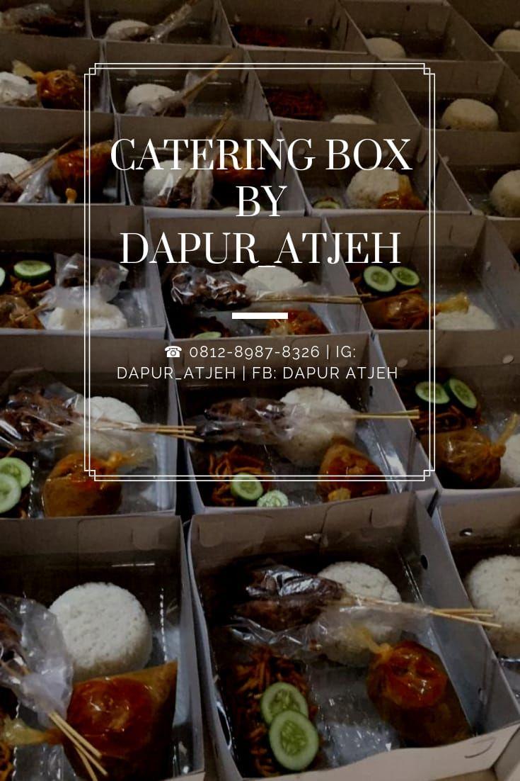 """"""" Dapur_Atjeh menyediakan layanan paket Catering Box"""