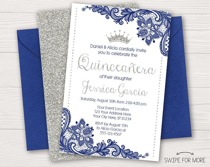 Charro Quinceañera Invitation | Roses, Lace, Red and Gold | Quinceanera Birthday Invitations | Personalized and Printable